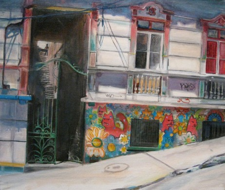 Casa de Charquipunk, Oil on canvas, 2010