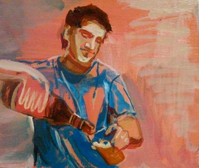 Chico, Oil on panel, 2010