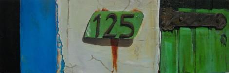 125, Oil on panel, 2010