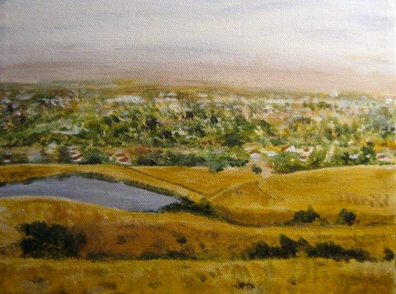 Rancho Higuera, Oil on canvas, 2008
