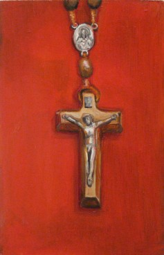 Rosario de Madera. Oil on panel, 2010